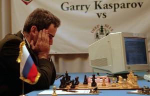 গ্যারি ক্যাস্পারভ নিমগ্ন 'ডিপ ব্লু'য়ের বিরুদ্ধে! (ছবিঃ Forbes)