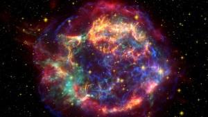 ক্যাসিওপিয়া এ এর মতো অনেক বিস্ফোরণে মহাবিশ্বে ফ্লোরিন তৈরি হয়- নতুন এক গবেষণায় প্রাপ্ত Credit-NASA/JPL-CALTECH/O. KRAUSE (STEWARD OBSERVATORY)