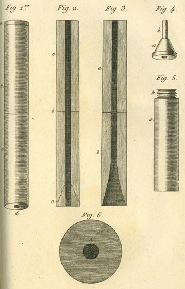 ১৮১৯ সালে রেনের আঁকা স্টেথোস্কোপের প্রথম ছবি