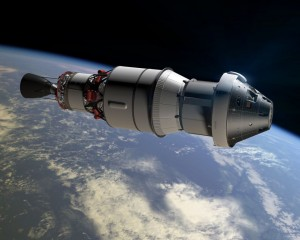 Upper stage of Orion