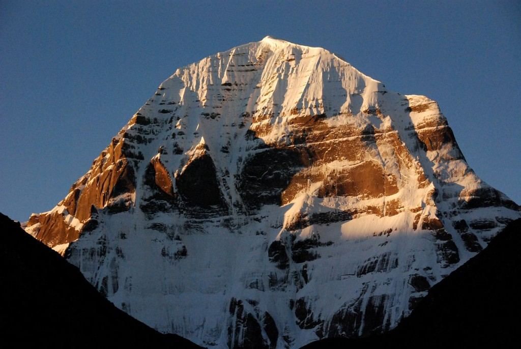 41 Mount Kailash North Face Sunrise From Dirapuk On Mount Kailash Outer Kora