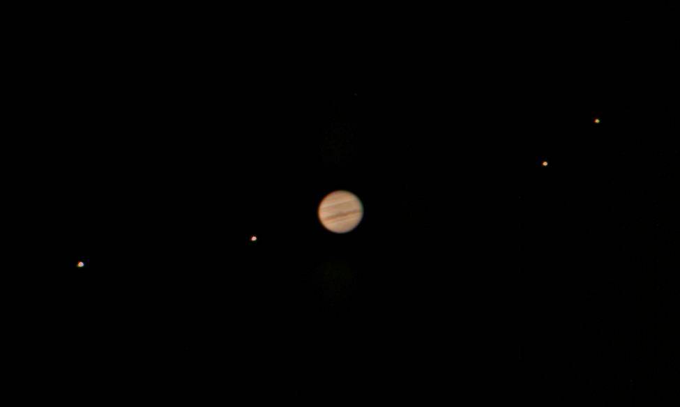 Jupiter and Gallilean moons - wiki